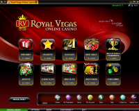 Royal Vegas Casino αίθουσα